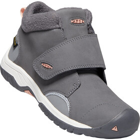 Keen Kootenay III Mid WP Schuhe Kinder steel grey/dusty pink